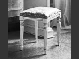 Табурет - Итальянская спальня Puccini bianco
