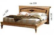 Кровать 180*200 - Итальянская спальня Rossini