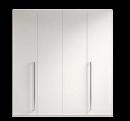 Шкаф, 4 двери 216 x 60 x 230 - Спальня TREVISO Grey