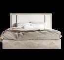 Кровать 198 х 203 King Size 217 x 211 x 128 - Спальня TREVISO Grey